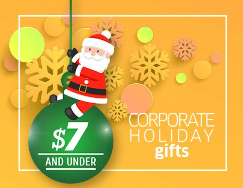 Corporate Christmas Gifts under $7
