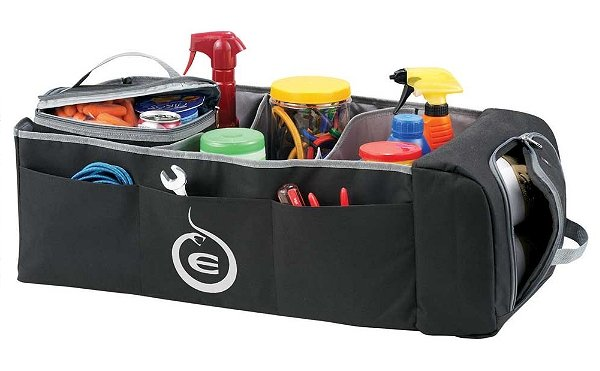 auto trunk organizer with cooler.