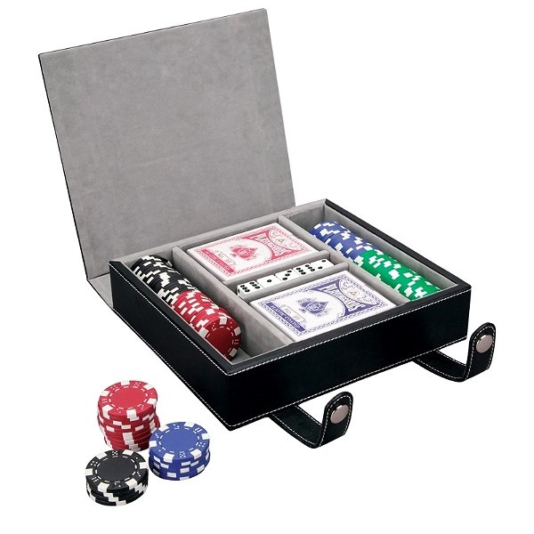 Game night poker set.