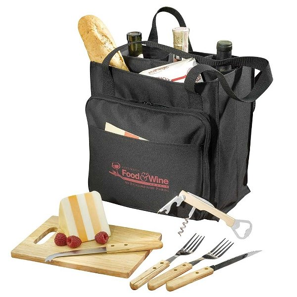 7-piece picnic set.