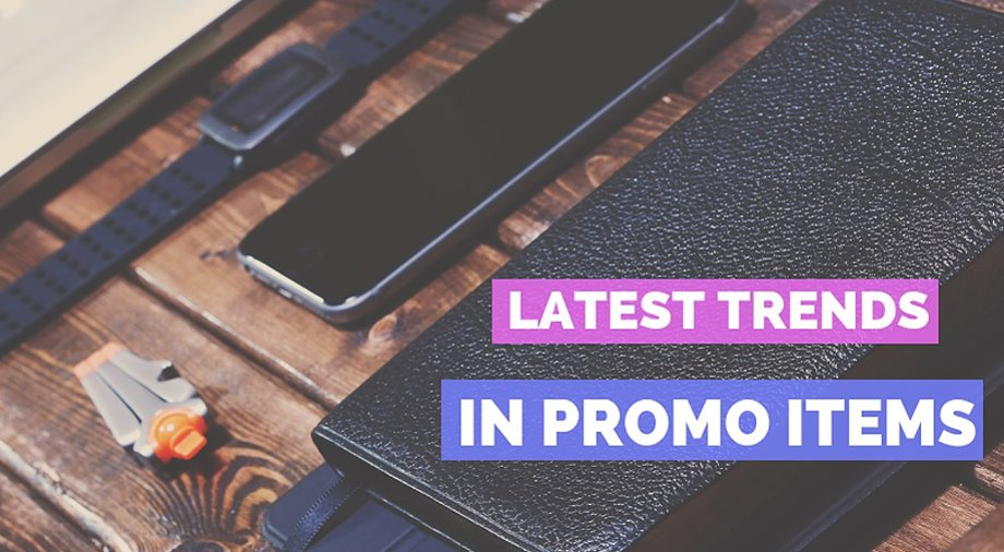 Latest Promotional Items Trends: Hot Products of 2018 - Blueberry Ink