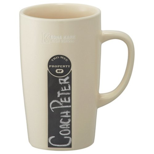 Personalized promotional mug