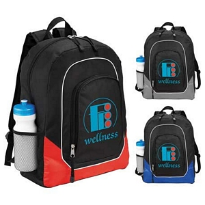 Color Pop Compu Backpacks