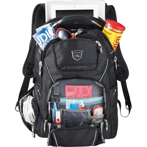 High Sierra Travel Computer Backpack Image 2