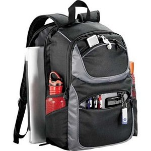 Airport Checkpoint-Friendly Compu-Backpack - Customizable Image 2