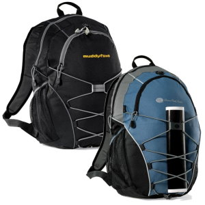 Rugged Computer Backpack -Bungee Cords for Additional Storage