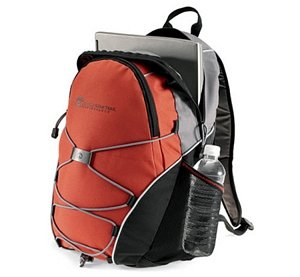 Rugged Computer Backpack -Bungee Cords for Additional Storage Image 2