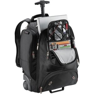 Wheeled Security-Friendly Compu-Backpack Image 2
