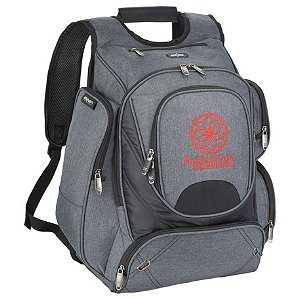 Promotional Checkpoint-Friendly Compu-Backpack -Printed Gift Image 2