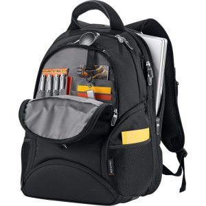 Side Entry Laptop Backpack Image 2