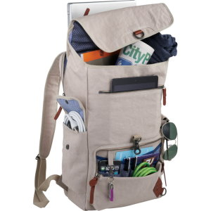 Deluxe Cotton Computer Rucksacks Image 3