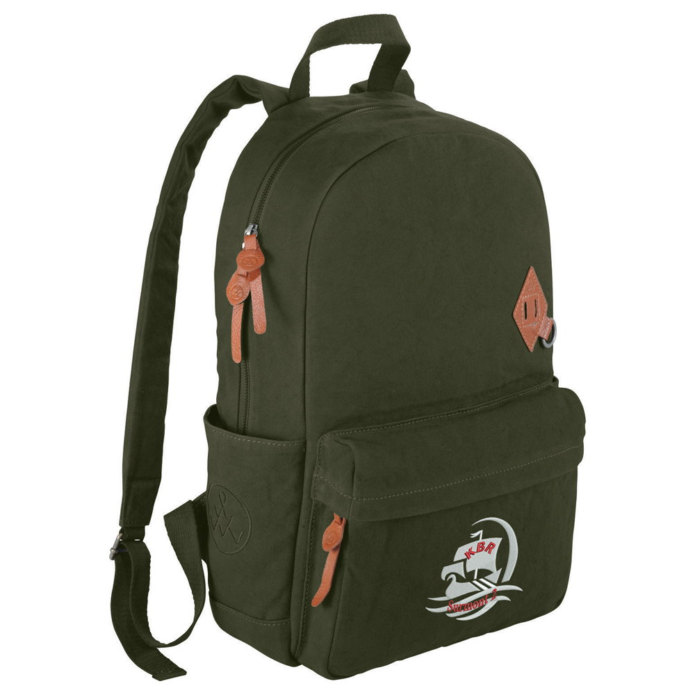 Basic Cotton Computer Backpack Image 2