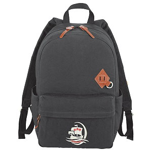 Basic Cotton Computer Backpack Image 4