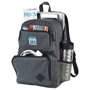 Graphite Deluxe Computer Backpack 2