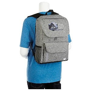 Canvas Computer Backpack Rucksack Image 2