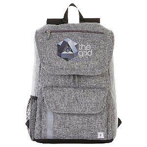 Canvas Computer Backpack Rucksack Image 3