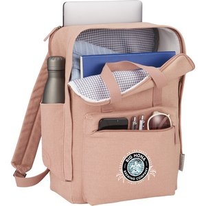 Modern Canvas Computer Backpacks Image 2
