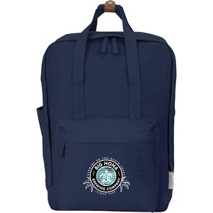 Modern Canvas Computer Backpacks Image 4