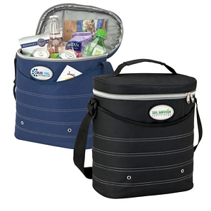 Oval Cooler Bags with Shoulder Strap
