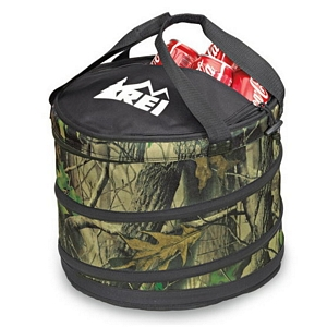 Camo Collapsible Cooler