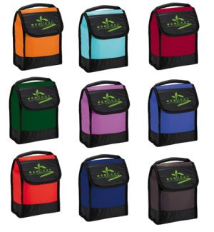 PEVA Insulated Lunch Bags Image 2