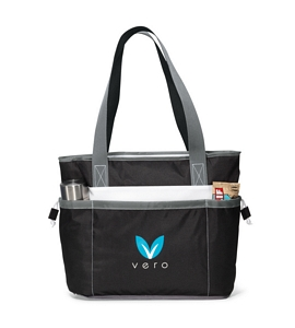 a17304f76 Insulated Cooler Tote Bags - Custom Logo Imprint - Blueberry Ink