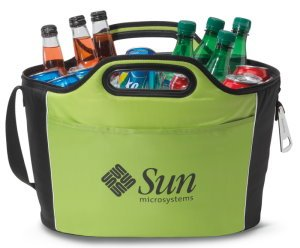 Roomy Party Cooler with Metal Bottle Openers Image 2