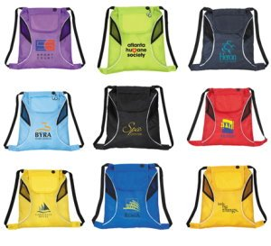 Media Drawstring Backpack Image 2