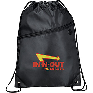 Reinforced Drawstring Backpacks Image 2