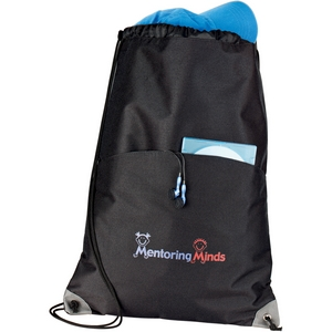 Drawstring Convention Bag For Corporate Event Gifts