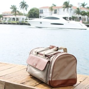 Cutter Buck Leather Canvas Duffel Bags 1