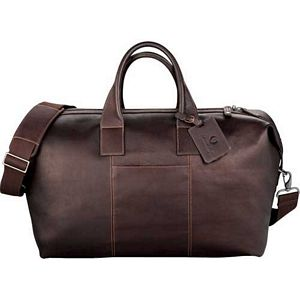 Kenneth Cole Leather Vacation Duffel