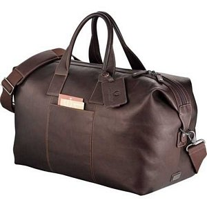 Kenneth Cole Leather Vacation Duffel 1