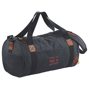 Basic Cotton Barrel Duffel