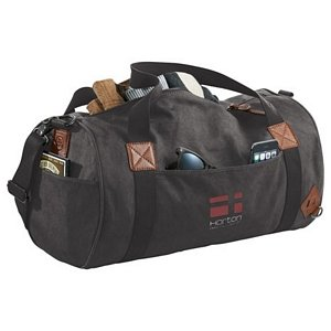 Basic Cotton Barrel Duffel 1