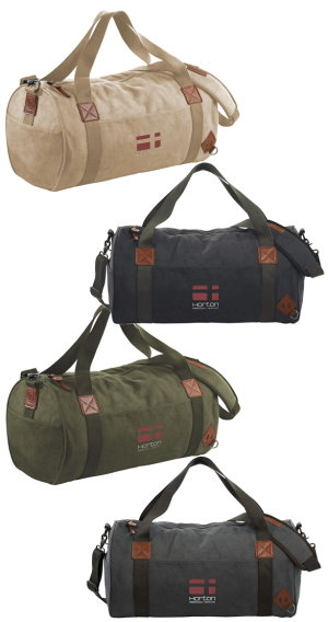 Basic Cotton Barrel Duffel 4