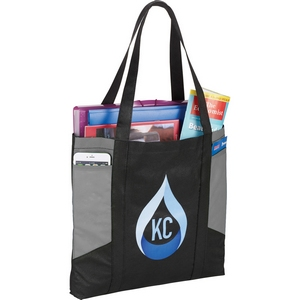 Color Panel Non-Woven Tote