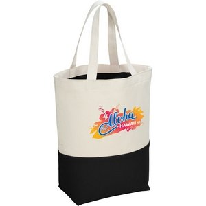 10 oz. Cotton Color Pop Tote Image 2