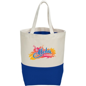 10 oz. Cotton Color Pop Tote Image 3