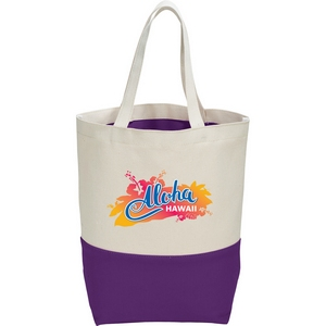 10 oz. Cotton Color Pop Tote Image 4
