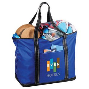 Everyday Nylon Zippered Tote Image 2