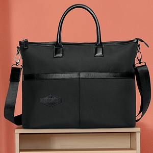 Downtown Classic Tote with Lasered Patch