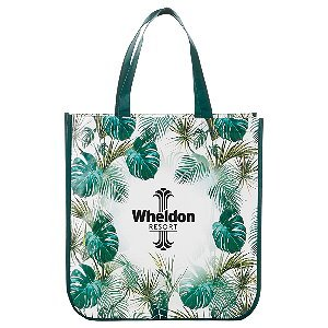 Laminated Palm Print Tote Bag Image 2