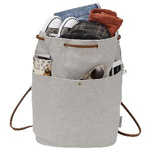 Convertible Canvas Rucksack/Tote Image 2