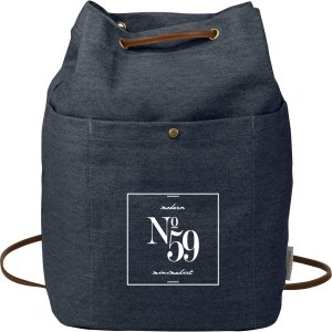 Convertible Canvas Rucksack/Tote Bags Image 2