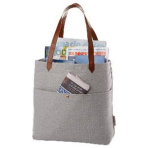 5cb8007e0 Cotton Multi Pocket Personalized Tote Bags - Blueberry Ink