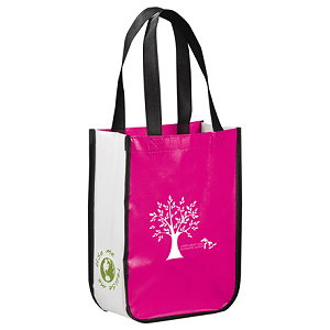 Laminated Non-Woven Small Tote Bags