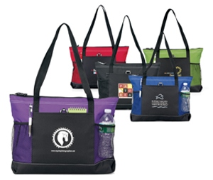 Stylish Seminar Zippered Tote
