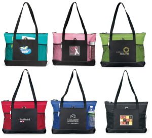 Stylish Seminar Zippered Tote Image 2