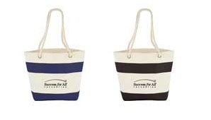 Promotional Beach Cotton Tote Bags Image 2